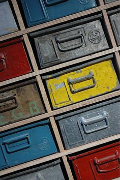Industrial Metal Boxes we have about 12 in the shop now for us to use or paint etc....!