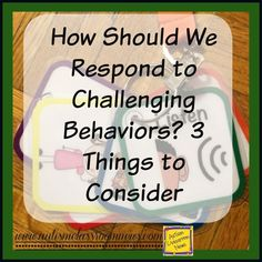 Autism Classroom News: How Should We Respond to Challenging Behavior?  Some really great reminders here for even veteran teachers.  Worth the read!!  Go to:  http://www.autismclassroomresources.com/how-should-we-respond-to-challenging/