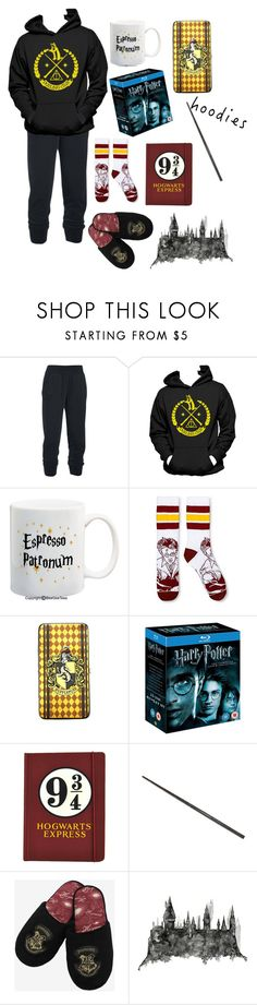 """""""Hoodie Style (Harry Potter)"""" by cheleniak ❤ liked on Polyvore featuring Under Armour, Warner Bros., Sirius, harrypotter and Hoodies"""