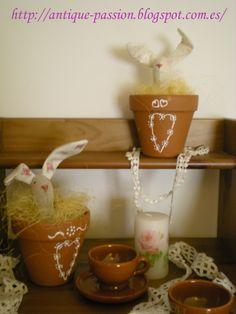 Conejos Tildas de Pascua