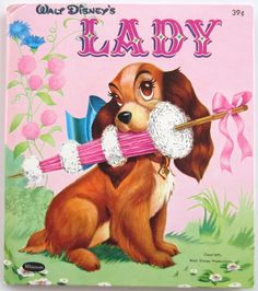 Walt Disney Lady Whitman Tell A Tale Vintage Book Ward Greene and the Tramp HB My childhood! Disney Sketch, Draw Disney, Disney T-shirts, Retro Disney, Disney Dogs, Disney Facts, Vintage Disney Art, Punk Disney, Disney Films