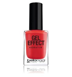 Esmalte Gel Effect Keratin - Poppy Red Nº 39 - 10ML - BELLAOGGI HINODE