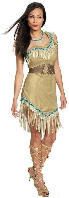 Disney Princess Pocahontas Deluxe Costume - Adult https://api.shopstyle.com/action/apiVisitRetailer?id=490221343&pid=uid8100-34415590-43