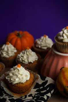 Starting today, these Pumpkin Cinnamon Roll Cupcakes will be competing in the Better Homes and Gardens Ultimate Holiday Baking Challenge. If you have a few minutes head over to the voting page HERE and cast a vote for these lovely treats starting at 9 am CST! I am in the Cinnamon Category going up against …