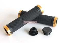 Cycling Lockable Handle Grip For Bicycle MTB Road Bike Handlebar Bicycle Grip Bike Aluminum Alloy + Rubber 5 Colors