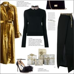 How To Wear Christmas Party Outfit Idea 2017 - Fashion Trends Ready To Wear For Plus Size, Curvy Women Over 20, 30, 40, 50