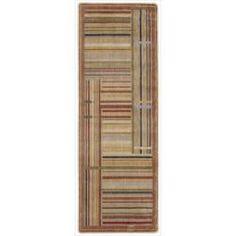 Nourison Summerfield Multicolor Striped Rug (2' x 5'9)