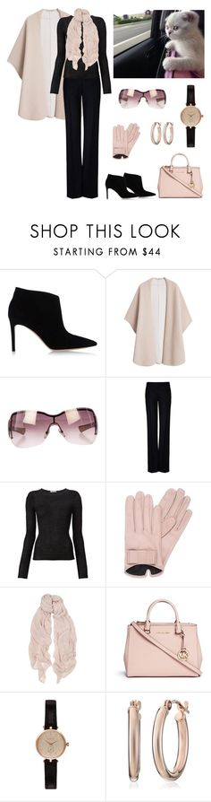 """Sunday Morning meeting with friends"" by dezaval ❤ liked on Polyvore featuring Gianvito Rossi, MANGO, Gucci, STELLA McCARTNEY, Denis Colomb, Mario Portolano, American Vintage, Michael Kors and Barbour"