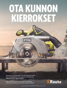 Huhtikuu on omistettu työkaluille! | Aikakausmedia Ads, Electronics, Consumer Electronics