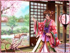 Free images about Sakura In Kimono - MobDecor Clow Reed, Clear Card, High Quality Wallpapers, Japanese Outfits, Cardcaptor Sakura, Computer Wallpaper, Magical Girl, Free Images, Manga Anime