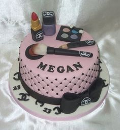 Chanel (Make-up) Birthday Cake