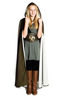 Girl's Costume Ranger's Apprentice Hooded by TenderlyFashioned