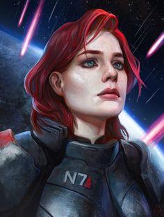Femshep,Commander Shepard,ME персонажи,Mass Effect,фэндомы,Shepard