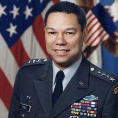 Cuando Colin Powell era un joven oficial de infantería, sirvió en Frankfurt, Alemania.