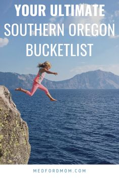 Everything you must do in Southern Oregon. All family-friendly adventures you won't want to miss! Check out the map for the perfect road trip