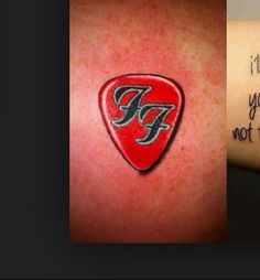 get a foo fighters tattoo bucket list pinterest foo fighters tattoo and tatting. Black Bedroom Furniture Sets. Home Design Ideas