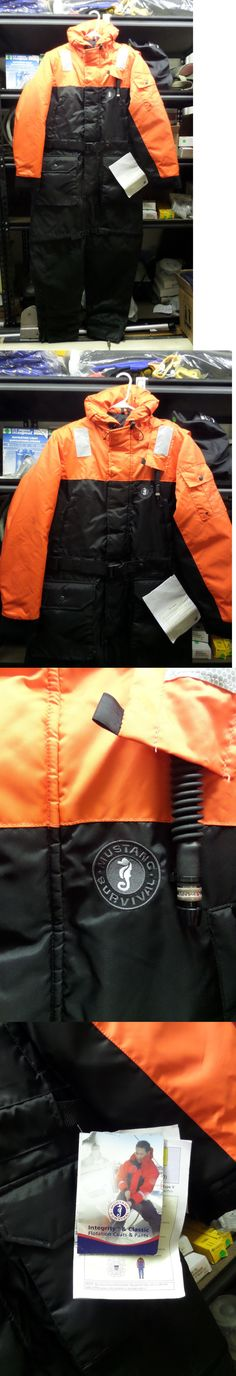 Jacket and Pants Sets 179981: Mustang Survival Boyant Suit Type V Pfd Large 42-46 Inch #Ms2175 -> BUY IT NOW ONLY: $299.95 on eBay!