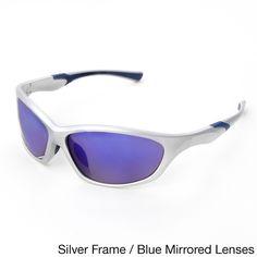 1864f5a053 Hot Optix Mens Sport Wrap Sunglasses (Blue - Silver) Sports Sunglasses,  Oakley Sunglasses