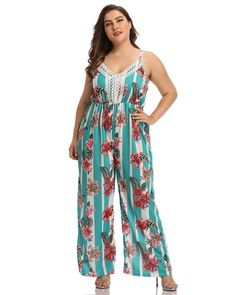 Chiffon Cape Flared Sleeves Flutter Sides Office Going Out Jumpsuit Bodycon Jumpsuit, Jumpsuit Style, Denim Jumpsuit, Party Fashion, Fashion Outfits, Women's Fashion, Jumpsuits For Women, Fashion Jumpsuits, Floral Stripe