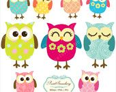 9 Owls - Personal Or Small Commercial Use (P047)