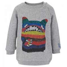 Munster Kids Babies Grey Jabber Monster Jumper | AlexandAlexa