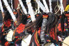 Deer dance, Iwate / 鹿踊り 岩手県平泉 毛越寺