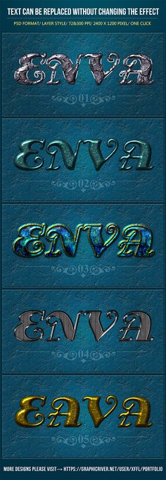 Decadent Texture Text Effects by XFFL Decadent Texture Text Effects Files FeaturesPSD Format Layer Styles 24001200 Pixels 72 & 300 PPI Version Easy to Change the Text,