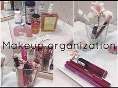 DIY: Makeup Organization ❤ - YouTube | We Heart It