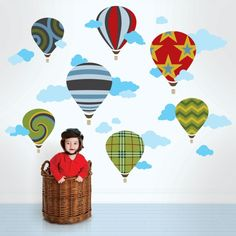 Wandsticker Kinderzimmer - Farbe und Freude an der Kinderzimmerwand - http://freshideen.com/kinderzimmer/wandsticker-kinderzimmer.html