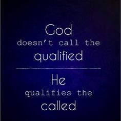 That's cool, and so true. God calls the people who need him, not always the people that deserve him. =D