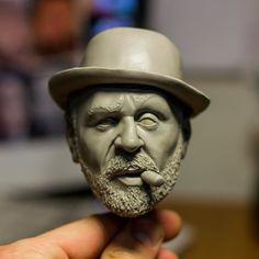 Custom bobblehead sculpting by Nikonovich on DeviantArt
