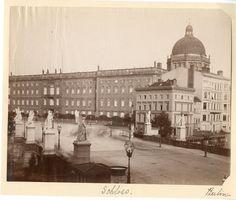 Berlin, Schlossbrücke, um 1885.