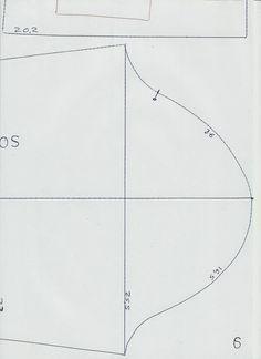MOLDE BASE DE VESTIDO DE CRIANÇA PARA 6 ANOS. (Moldes Dicas Moda) 4fbdbd17ab6