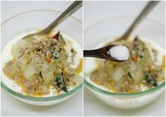 Recipe for kongunad thayir kuzhambu made with pachai masala (raw masala). Pumpkin Yogurt, Coconut Milk Chicken, Yogurt Bowl, Plain Yogurt, Coriander Seeds, Curry Leaves, Mashed Potatoes, Cooking, Ethnic Recipes