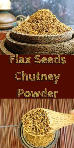 lax seeds are the richest sources of omega 3 fatty acids. It is an excellent source of vitamins and minerals – magnesium, phosphorus and copper and also high in fiber, vitamin B1, manganese. There are loads of health benefits and looking at these benefits it becomes important to include flax seeds in our daily menu. We can always add in flax seed powder to our milkshakes/smoothies or can add to our cakes/cookies. This recipe is a great way to consume flax seeds in a spicy way – chut...