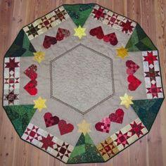 KludeMarie: Mønster Juletræstæppe
