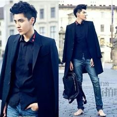 OH MY FUCKING GOD WHY ARE YOU DOING THIS TO ME, HUH?!?! GODDAMNIT WU YIFAN WHYYYY T.T stop being so handsome pleaaaase T.T