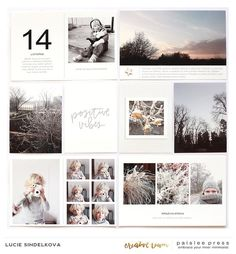 Creative Team Inspiration | 4×6 Photo Templates vol. 6