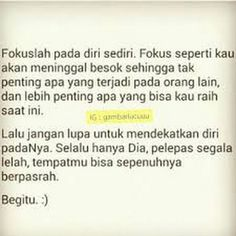 Foto Self Reminder, Quotes Indonesia, Funny Things, Islam, Signs, Inspired, Life, Pictures, Funny Stuff