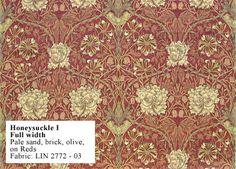 Honeysuckle I - Historic Style - William Morris