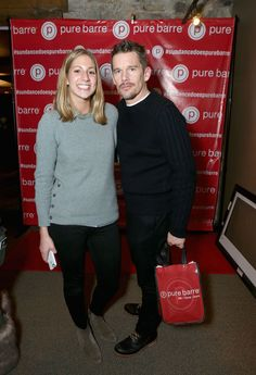 That time we hung out with Ethan Hawke at #Sundance. #tbt #Boyhood #Oscars #PureBarrePopUp #PureBarre