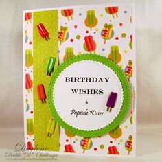 Popsicles, Birthday Wishes, Challenges, Pallets, Special Birthday Wishes, Ice Cream Pops, Ice Candy, Ice Pops, Slushies