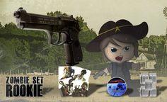 Beretta M92 FS CO2-Pistole Kal. 4,5mm - Zombie Set - Rookie  inkl. Diabolos, CO2…