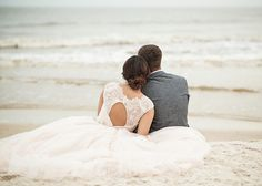 Sweet photos of a Cape San Blas wedding.