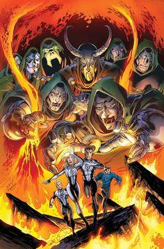 Fantastic Four by Mark Bagley *