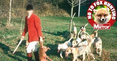 Clifford Pellow, who hunted professionally for 23 years, spoke of how a hunt master crushed three pups with his heel after hounds tore pregnant vixen apart