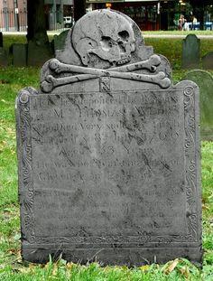 18th century grave art