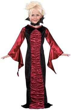 Sweetly Gothic Child Vampire Costume Girl WIG