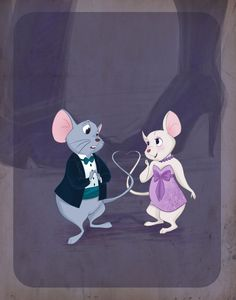 Disney Prom pt 2- The Rescuers by spicysteweddemon.deviantart.com on @deviantART