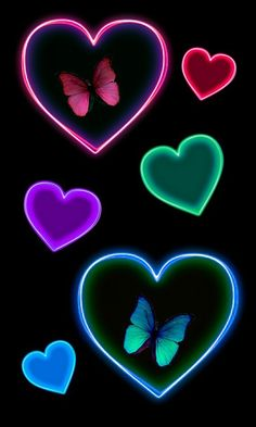Image uploaded by CyanideLollipop. Find images and videos about pretty, black and wallpaper on We Heart It - the app to get lost in what you love. Butterfly Pictures, Heart Pictures, Heart Images, Love Images, Vintage Wallpaper, Love Wallpaper, Colorful Wallpaper, Wallpaper Backgrounds, Heart Iphone Wallpaper